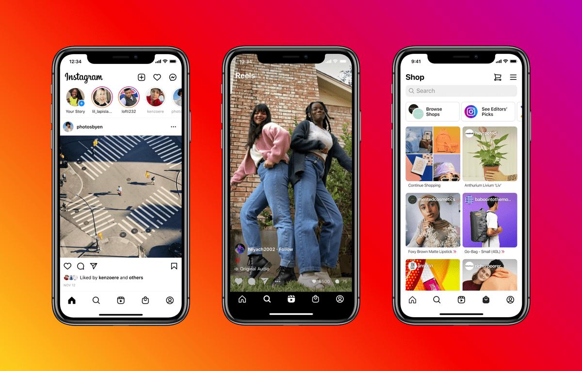 2020-11-instagram-reels-shop-tabs